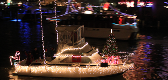 Parade of lights cruise
