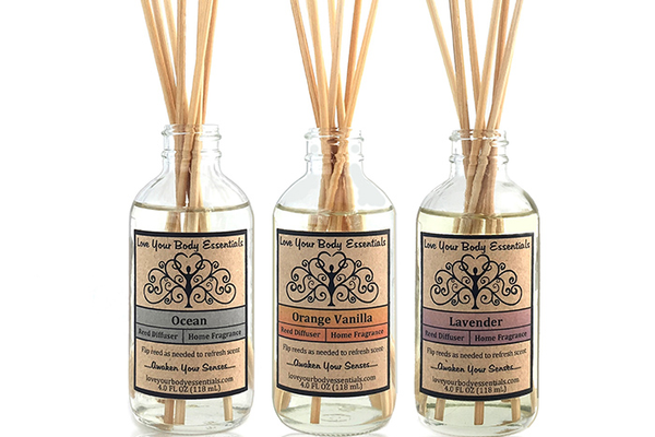 Love Your Body Essentials Reed Diffuser, $19 each at Time & Space