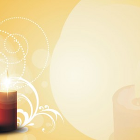 Candlelight powerpoint templates