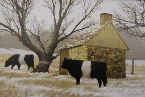 'Snow on the Fields' by Peter Sculthorpe.