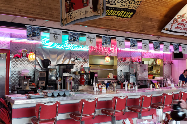 The DuBois Diner. Photo by Vanessa Orr