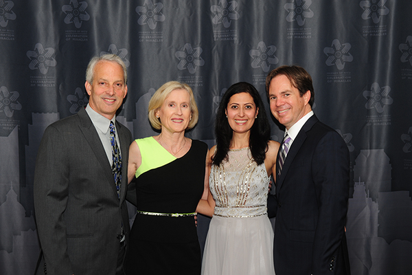 Greg Cohen and Carolyn Getman with Mona and Tony Wartell