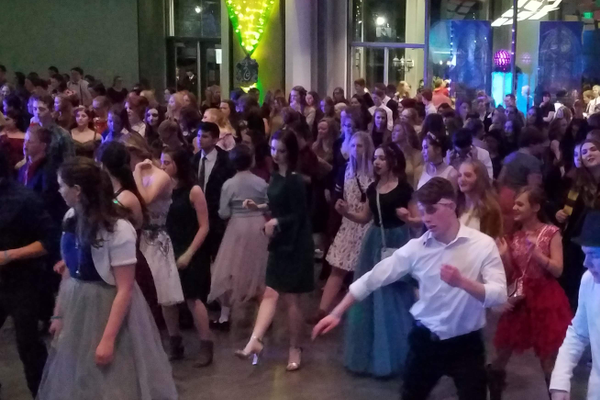 Dancing at the Yule Ball went from 7 to 10 p.m. on Jan. 18 at the Viridian Event Center.