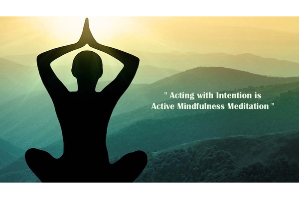Intention mindfulness meditation