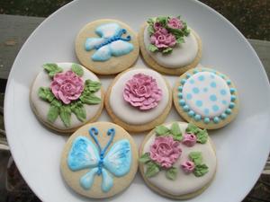 Spring Cookie Decorating Flower Power - start Apr 25 2019 0600PM