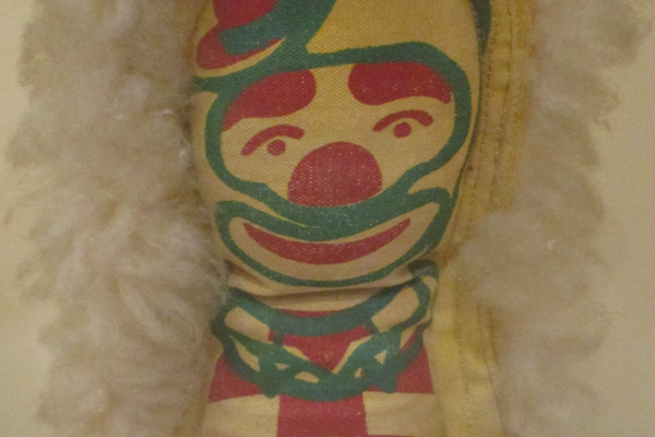 A knock-down doll from Lenape Park.