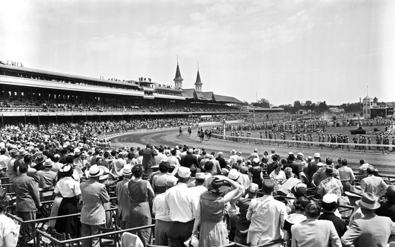 Spectators kentucky derby 1955 11 derbydowns0516