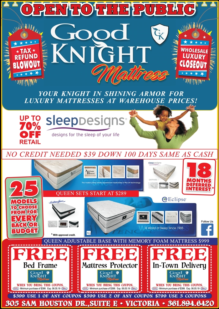 Good 20knight 20mattress 20  20vc 20  20apr may 202019