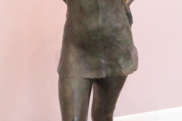 'Dancer,' a bronze by Olga Nielsen.