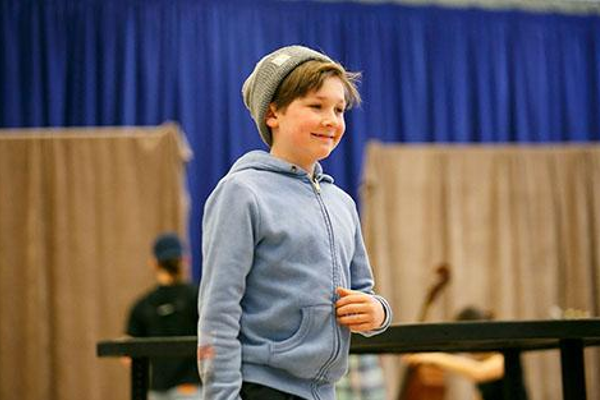 Jack McCarthy, who doubles in the role of August Rush/Evan Taylor, made his Broadway debut at age 8 as Michael in Finding Neverland. His other credits include Shadowlands Off-Broadway, and the films Viper Club, Family Fang and The Path on TV.