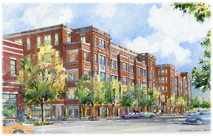 The Residences luxury condominiums from the developers of Southlake Town Square have been approved