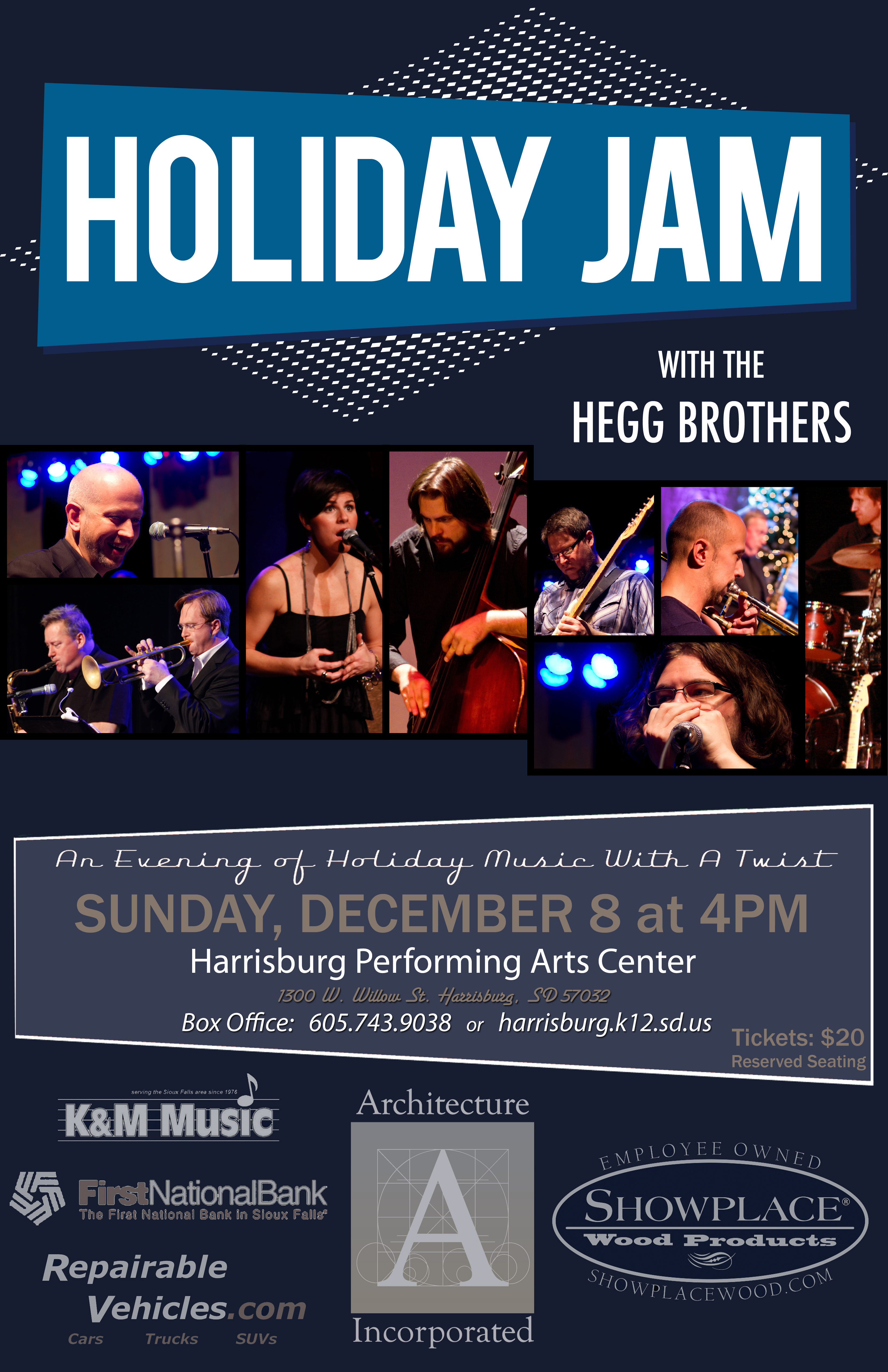 Holiday jam 2013 poster
