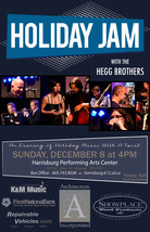 Medium holiday jam 2013 poster