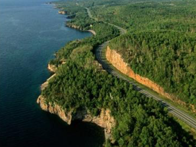 The Weather Channel names North Shore Scenic Drive as
