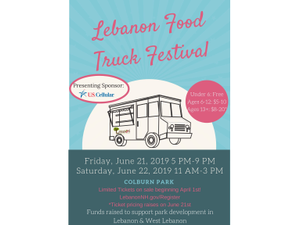 Food Truck Festival  - start Jun 22 2019 1100AM