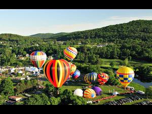 40th Annual Quechee Hot Air Balloon Craft and Music Festival - start Jun 14 2019 0300PM