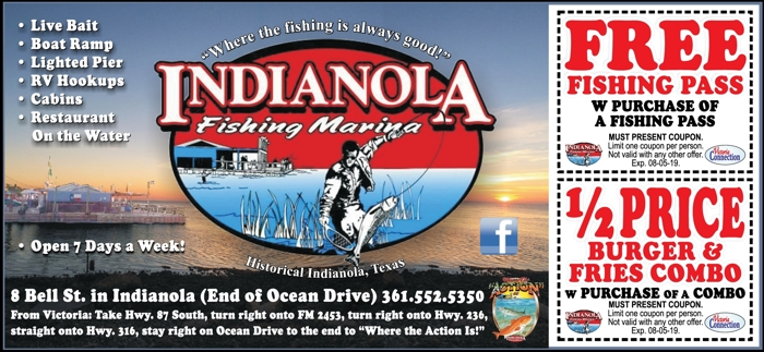 Indianola 20fishing 20marina 20  20vc 20  20june july 202019
