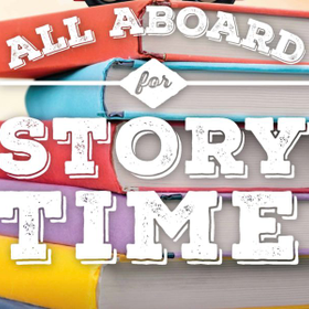 All aboard for story time
