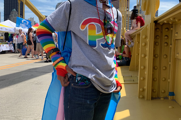 Chandler at Pride