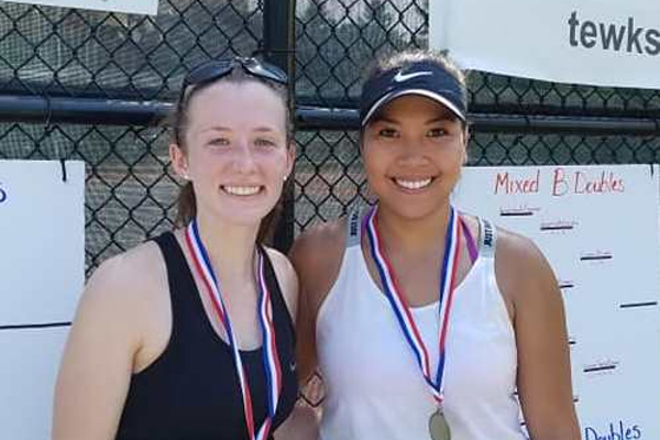 Ladies Singles Finalists -- Hieu Nguyen def. Anna Mullane 6-3, 6-2