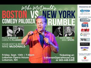 Comedy Palooze Rumble - Boston versus New York - start Sep 13 2019 0730PM