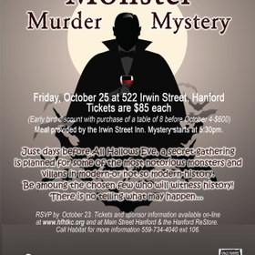 2019 monster murder mystery flyer 20copy