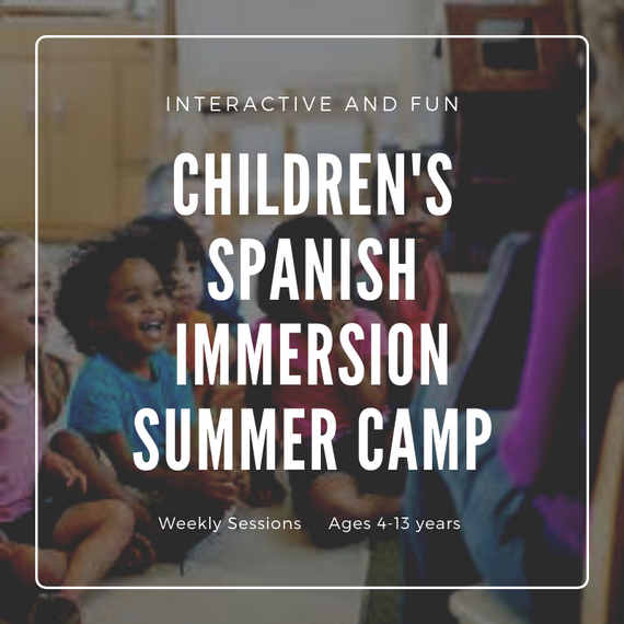 Children s 20spanish 20immersion 20summer 20camp