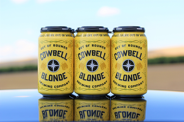 Out of Bounds Brewing Company 6-pack 'Cowbell Blonde'