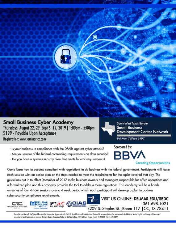 Flyer 20  20cyber 20academy 208.22.2019