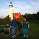 Mark & John with Telescop