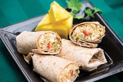 Thai Tofu Wraps Recipe