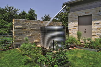 Thousand Gallon Rain Barrel