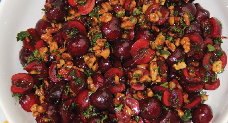 Lebanese Cherry Salad Recipe