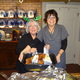 Susan shows off her cooking skills, along with family-friend Jean Rosater