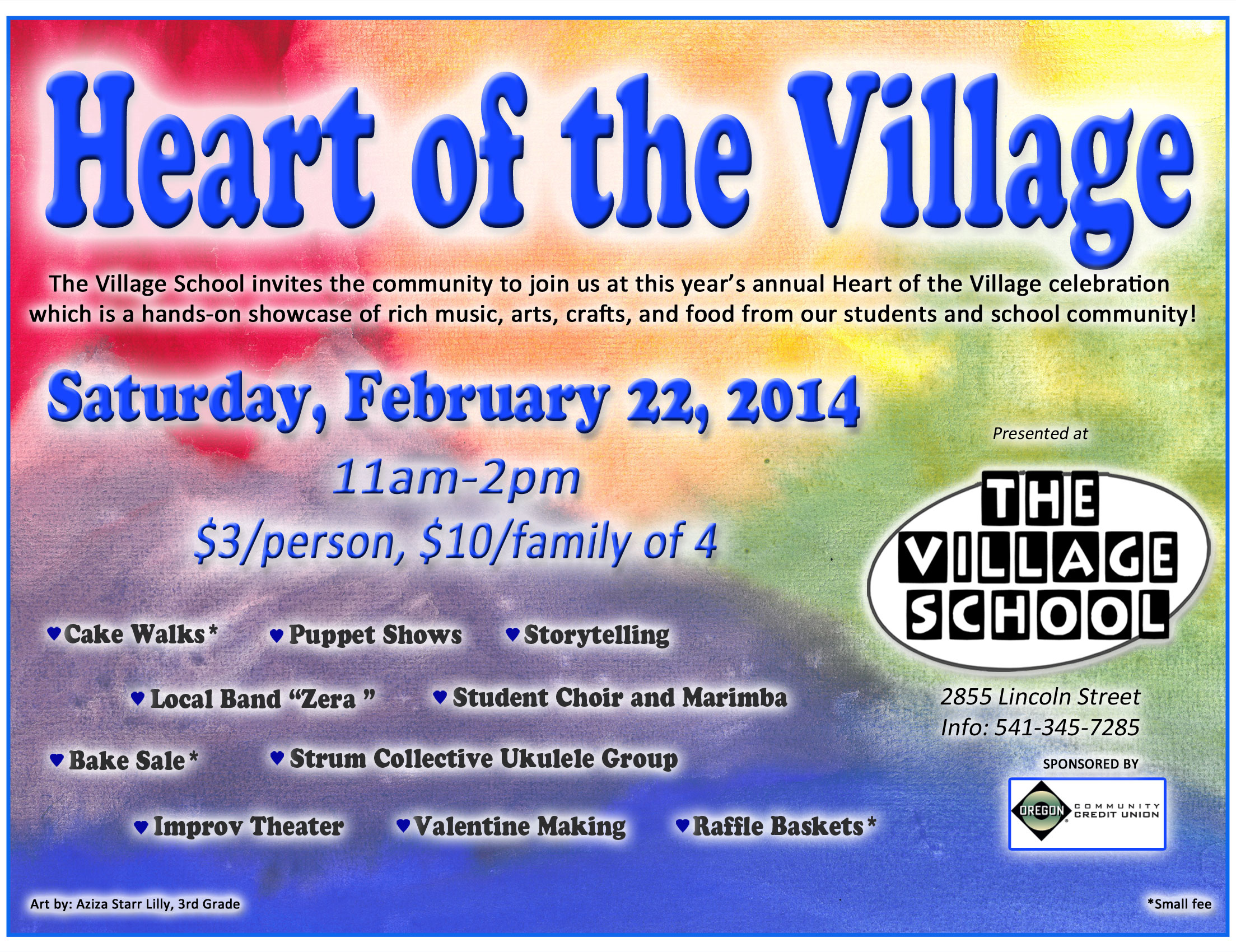 2014 heart of the village poster 8x11