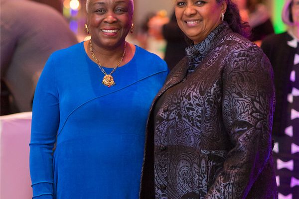 Esther Parker and Carlesa Finney