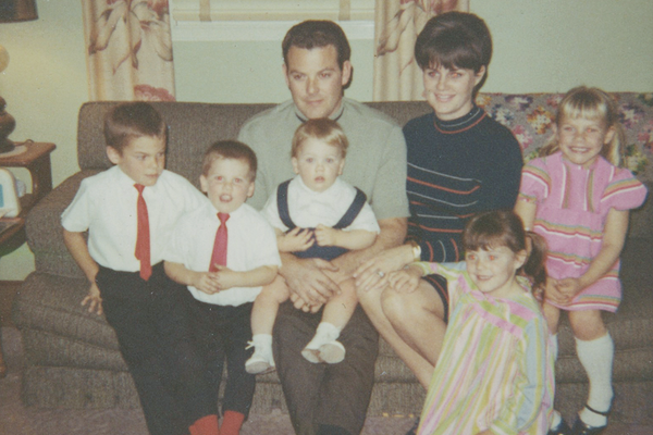 The John Rohan family circa 1960s.