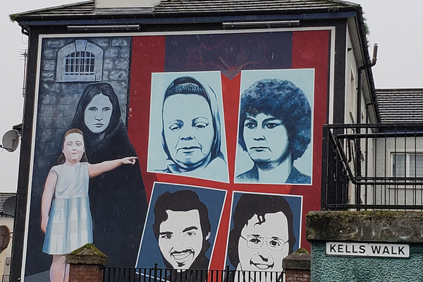 There are murals all over the walls near the Museum of Free Derry that commemorate the lives lost on Bloody Sunday and in the fight for civil rights.