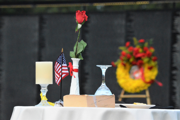 Missing Man Table Ceremony