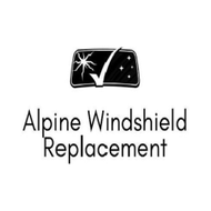 Alpine windshield replacement logo