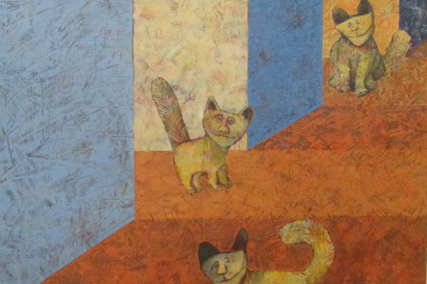 'Cat Alley' by Polly Davis Chalfant.