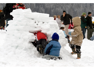 Igloo Build and the Science of Winter - start Feb 15 2020 1030AM