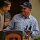 Mayor Tim Brown with Carlos Buenrostro, Jr.