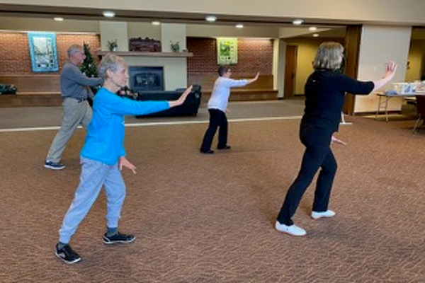 Tai chi, photo courtesy Eileen Albert
