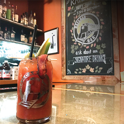 Railcar Modern American Kitchen Bloody Mary