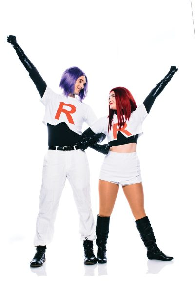 Dan and Katie Good portray Team Rocket