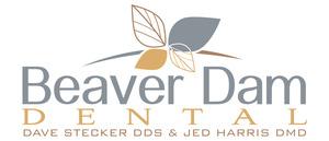 Medium beaver dam dental logo