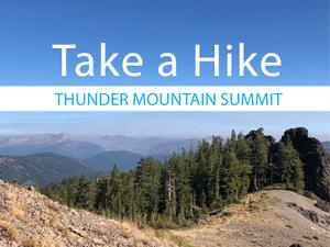 Take a Hike Thunder Mountain Summit