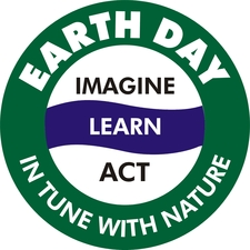 Medium tri cit earth day logo