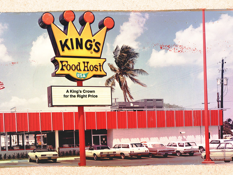 photo of old King's Food Host store